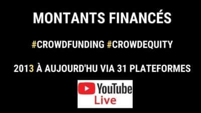 Montant financés crowdfunding Live