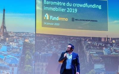 Baromètre CrowdFunding immobilier 2019 : +102% ! Tous les détails