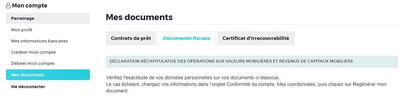 Où trouver son IFU Credit.fr pour la déclaration d'Impôts sur le Revenu ?