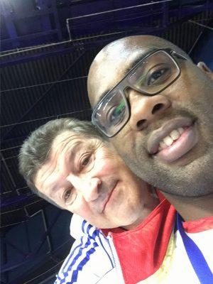Teddy RIner et Jean-Claude Senaud