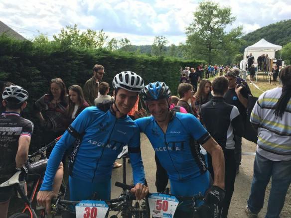 Rémi Chaudière et Christophe Chambard les nouveaux champions du Limousin en Master 30 et Master 50
