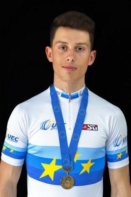Thomas Bonnet Champion d'Europe VTT XCO Junior