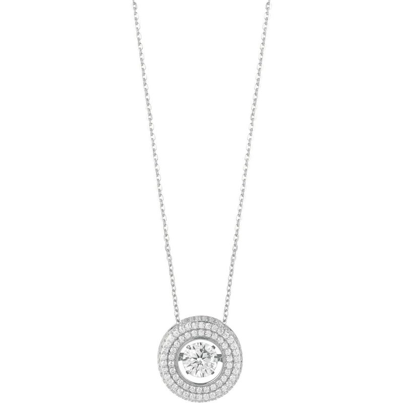 Bliss Collana Punto Luce In Argento