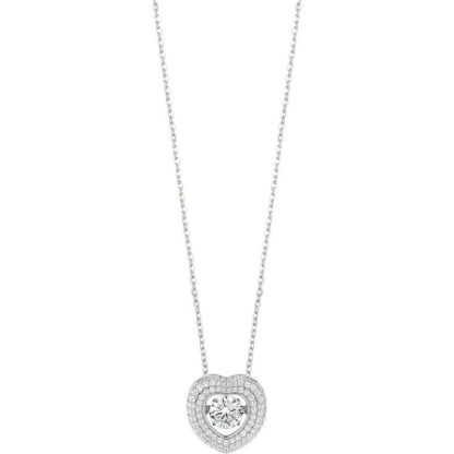 Bliss Collana Cuore in Argento