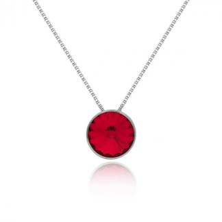 Collana Punto Luce Rosso A3039-64G