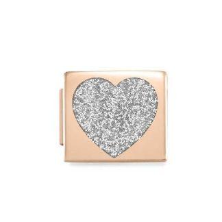 NominatioN Composable Glam Cuore Glitter