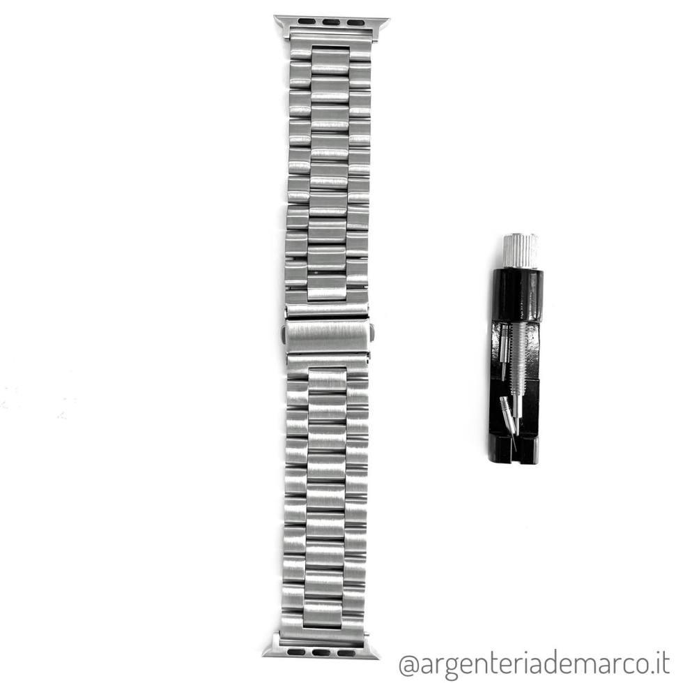 Cinturino Apple Watch Acciaio 44mm