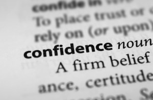 Confidence and Courage