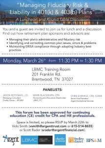 March 26 Invite