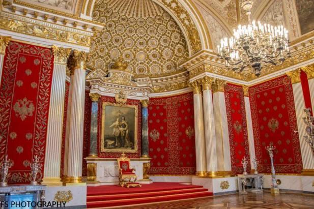 salon del trono hermitage