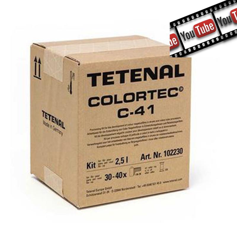 Test Tetenal C41