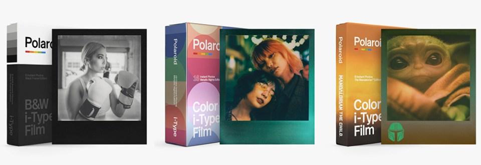 Les différents formats de Polaroids