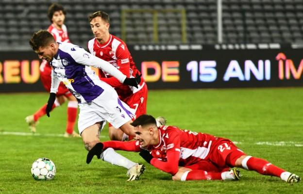 Dinamo câștigă, la Pitești