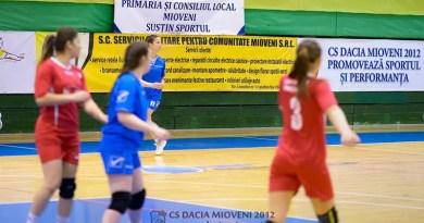 Victorie în meciul de pregătire pentru handbalistele din Mioveni