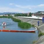 Exerciţiu de simulare și verificare a intervenției în caz de inundații pe râul Argeș