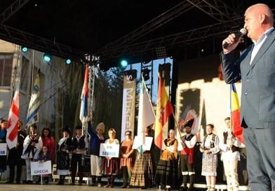 Video senzațional! Dansatorii din Georgia au oferit imaginile anului în Argeș la Festivalul Carpați