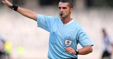 Arbitrul Iulian Călin, aproape de Lista FIFA FOTBAL