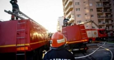ACUM! Incendiu într-un bloc din Găvana!