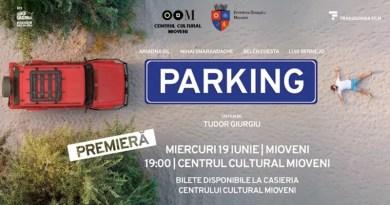 """Filmul """"Parking"""", regizat de Tudor Giurgiu, la Mioveni"""