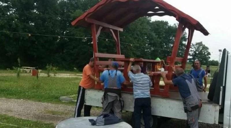 Numărul foișoarelor din zona de picnic Făget a fost suplimentat