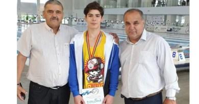 Mioveni: Prima medalie la Campionatele Naționale de Înot
