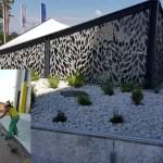 Spațiile verzi de lângă noul spital din Mioveni, amenajate și curățate