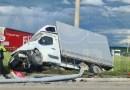 Acum! Accident pe DN73 în zona Bemo!