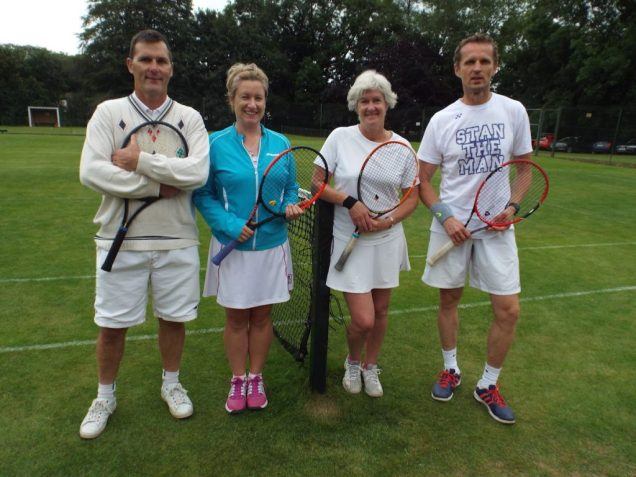 Stanley Cup 2017 . Winners Donal Neary & Mary Claire McCarthy. Runners Up Anne Davis & Stan Dvorsky