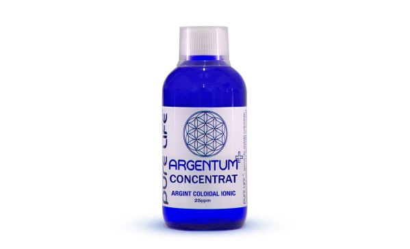 Argint coloidal 25ppm 240ml