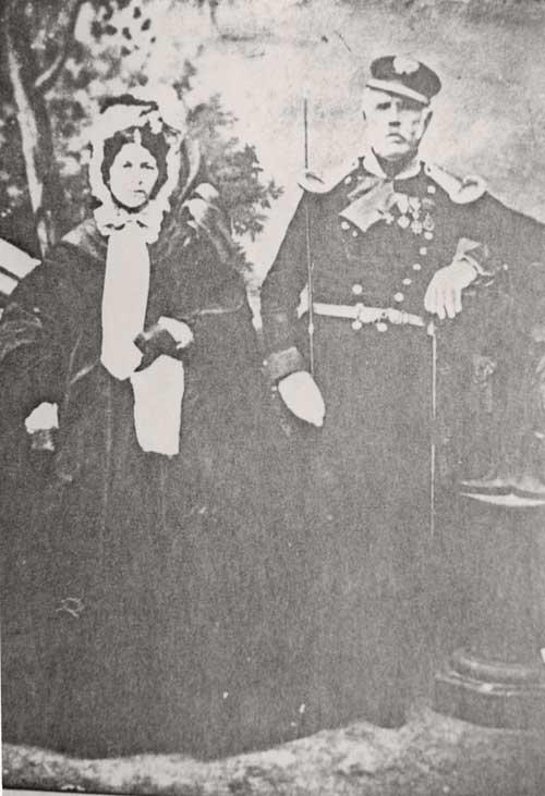 Ο Πέτρος Μπελίνος με τη σύζυγό του Μαρία.
