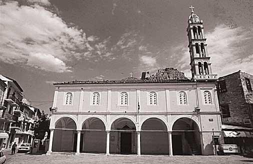 Ο ιστορικός ναός του Αγίου Γεωργίου.