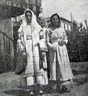 Η καθημερινή φορεσιά της Αργολιδοκορινθίας ( από το κάτω Μπέλεσι του Άργους)