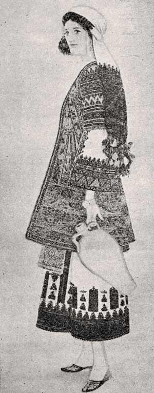 Η επίσημη φορεσιά της Αργολιδοκορινθίας (Μουσείο Μπενάκη)