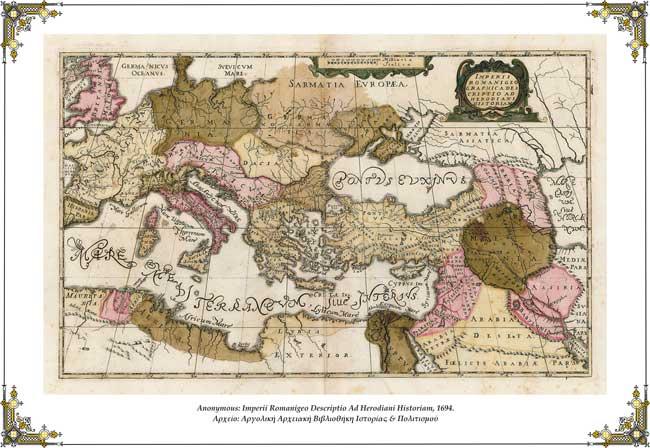 Imperii Romanigeo Graphica Descriptio Ad Herodiani Historiam