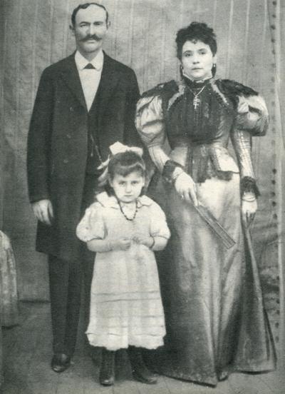 Οικογένεια Κιανών περίπου το 1912.
