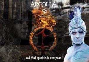 Acrobatic Show - Argolla 5th Element - Poster