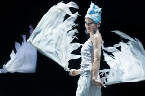 Dancer with wings - Circus costume - Argolla Show