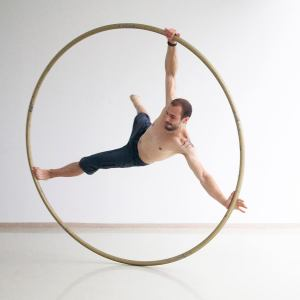 Argolla Cyr Wheel - Acrobat in Got Talent Show