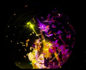 Transparent Ball - Argolla Show