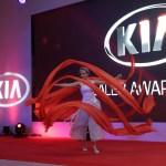 Argolla Ribbon Dance Show Kia Rio