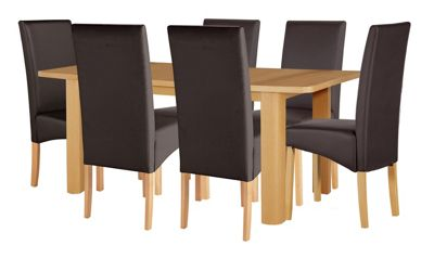 Buy Hygena Wooden Space Saver Table And 4 Chairs