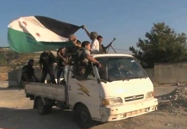 Opposisjonssoldater fra Free Syrian Army. Foto: Wikimedia Commons.