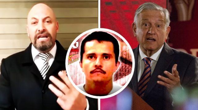 Comandante Cobra manda mensaje a AMLO sobre renuncia de El Mencho al huachicol