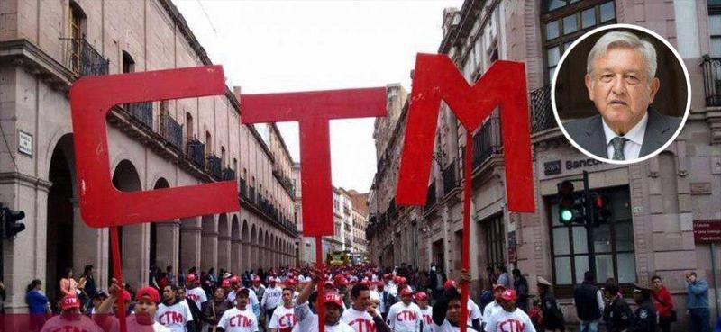 CTM tenía 25 años que no ocupaban las calles, ahora anuncia decenas de marchas contra AMLO