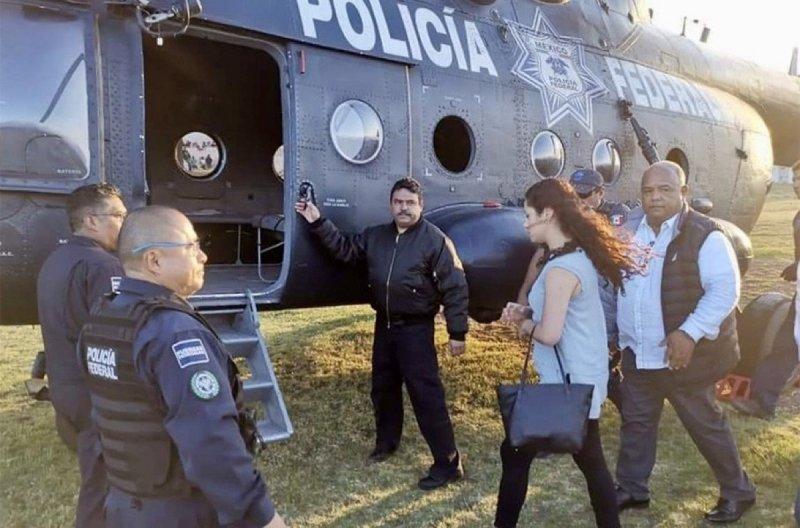 Desobedece a AMLO, captan a diputada de Movimiento Ciudadano viajando en helicóptero oficial.