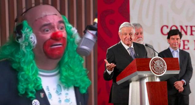 """Brozo advierte a AMLO: """"presentaré pruebas de que """"Las Mañaneras"""" son un teatro y una farsa"""""""