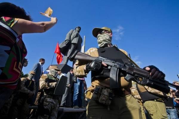 Донецкая область. 24 мая 2014 года Фото Евгения Фельдмана