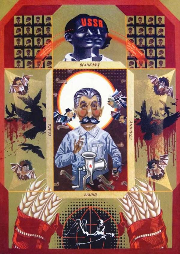 ПЛАКАТ МИКОЛИ ПАВЛУСЕНКА, 1996 Р. ІЗ КОЛЕКЦІЇ РОБІТ «ГОЛОДОМОР ОЧИМА УКРАЇНСЬКИХ ХУДОЖНИКІВ». ТАКАЯ УЖАСНАЯ ТРАГЕДИЯ, КАК ГОЛОДОМОР, ОБЯЗЫВАЕТ НАС ПРЕЖДЕ ВСЕГО ПОНЯТЬ — ПОЧЕМУ ПОДОБНОЕ МОГЛО СЛУЧИТЬСЯ И КАК НЕ ДОПУСТИТЬ ТАКОГО КОШМАРА В БУДУЩЕМ