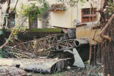 Hurricane R4118 as Recovered in India 2001.