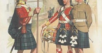 Recruiting poster for the Argyll & Sutherland Highlanders